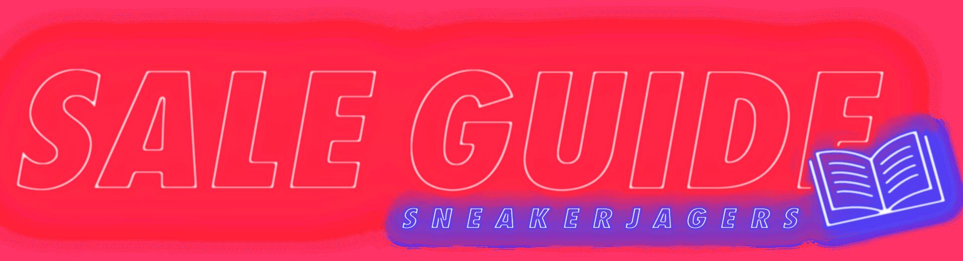 Sneakerjagers Sale Guide