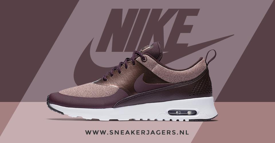 Nieuwe colorway voor de Nike Air Max Thea: Port Wine