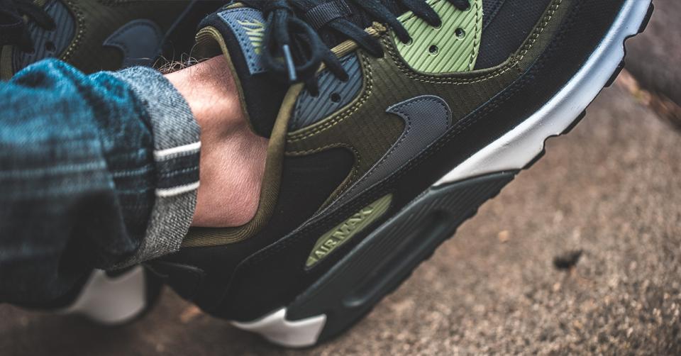 Nike Air Max '90 Premium 'Legion Green' | Sneakerjagers