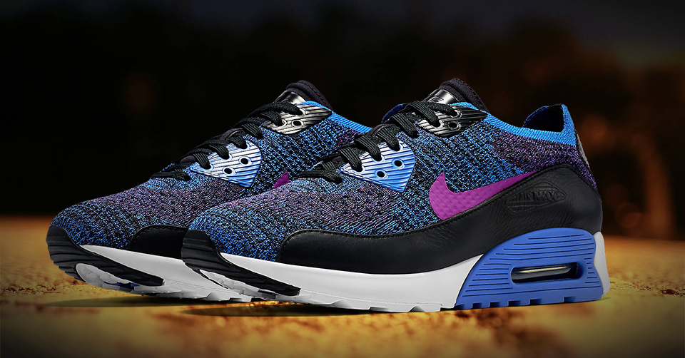 NIKE AIR MAX 90 ULTRA 2.0 FLYKNIT PNCL | Sneakerjagers