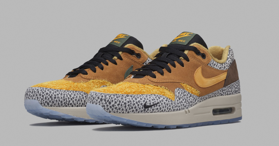 Nike Air Max 1 x Atmos 'Safari' Re release! | Sneakerjagers