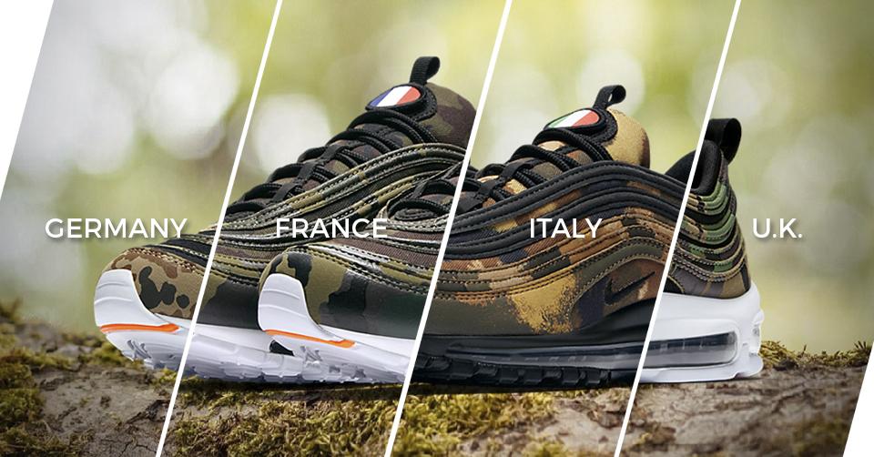 Nike Air Max 97 Country Camo UK AJ2614 201