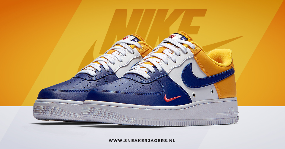 Nike Air Force 1 Low Mini Swoosh FC Barcelona | Sneakerjagers