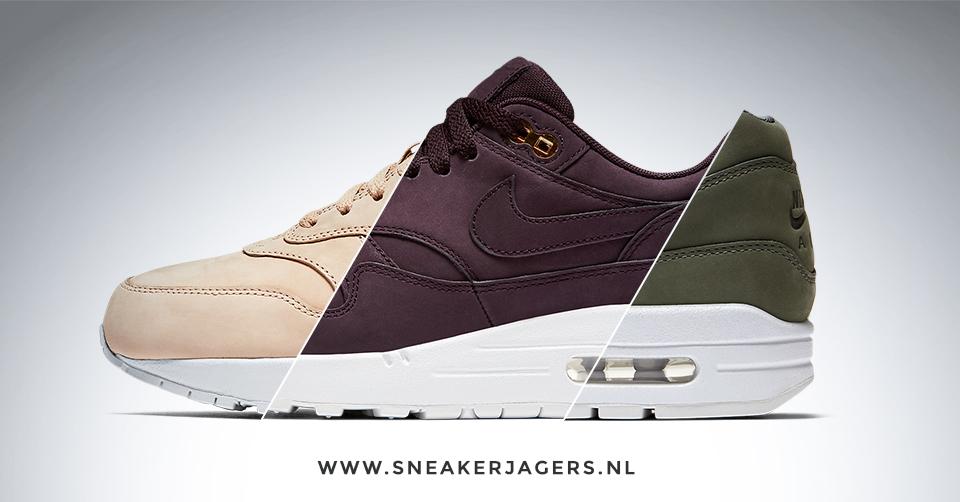 Nike Wmns Air Max 1 Premium Tonal Nubuck Pack | Sneakerjagers