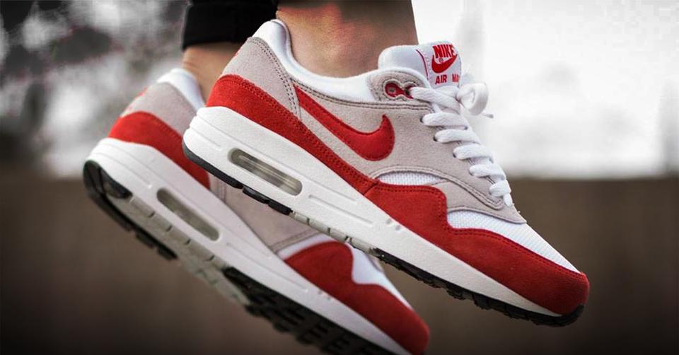 Nike released Air Max 1 OG in Red & Blue | Sneakerjagers