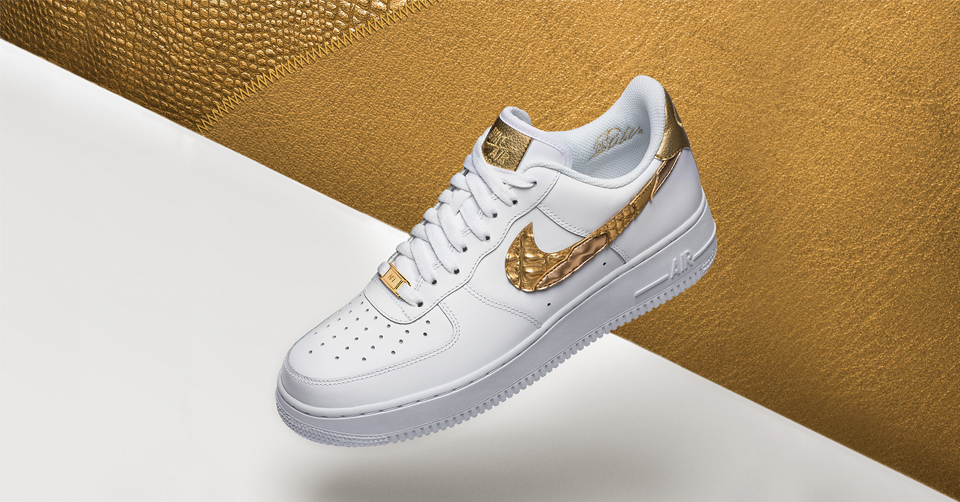 Nike Air Force 1 CR7 Golden Patchwork | Sneakerjagers