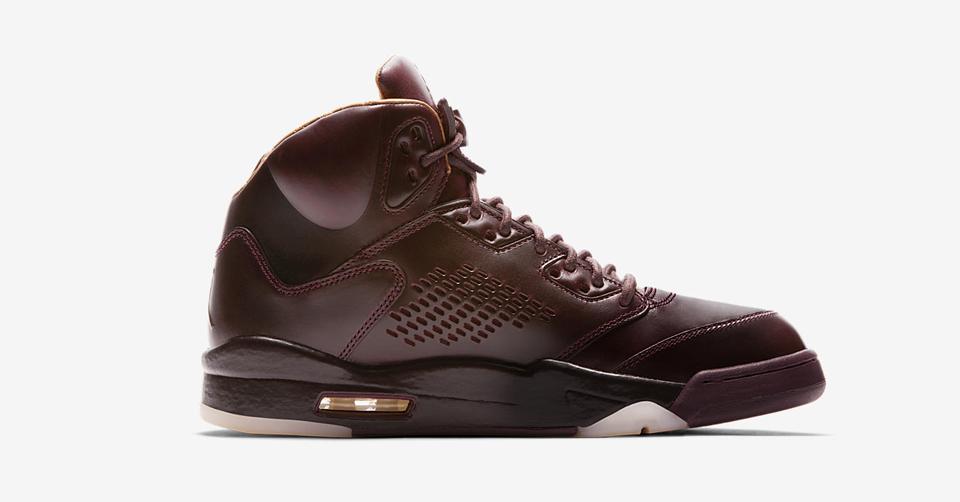 Air Jordan V zijaanzicht