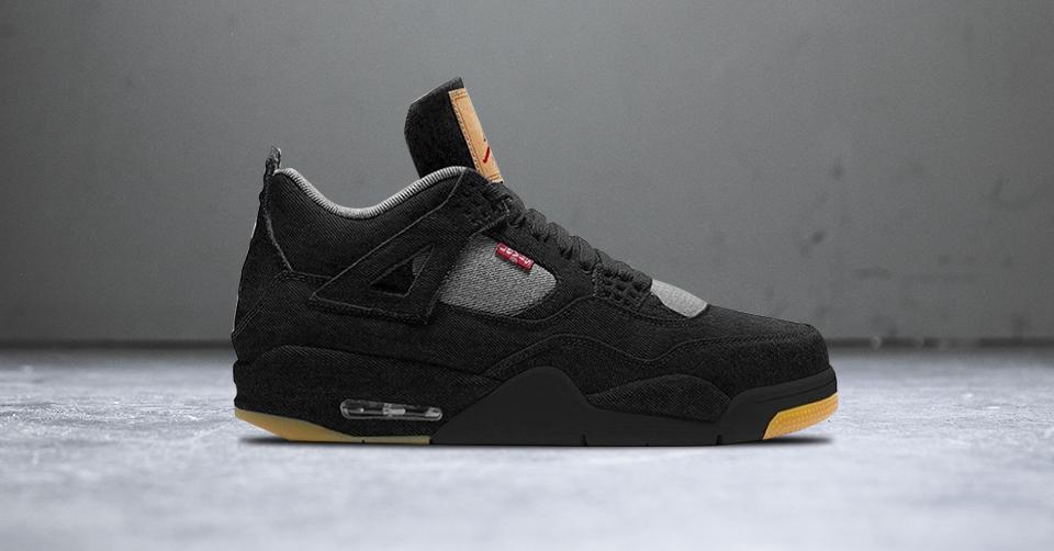Air Jordan IV x Levi's Black Denim