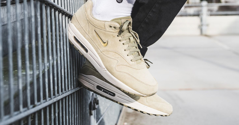 Nike Air Max 1 Premium SC Jewel Neutral Olive | Sneakerjagers