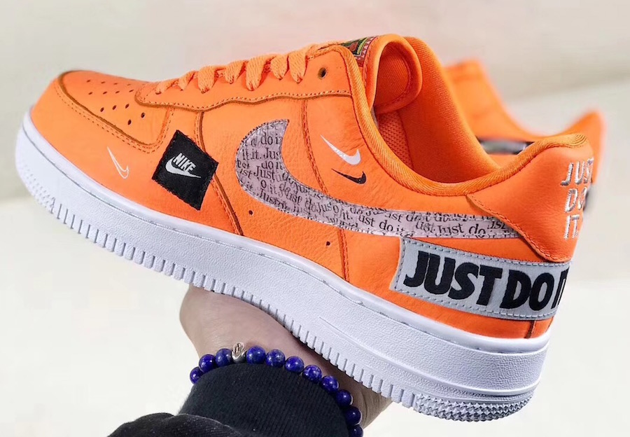 """Men's Nike Air Force 1 Low PREMIUM """" JUST DO IT """" collection"""