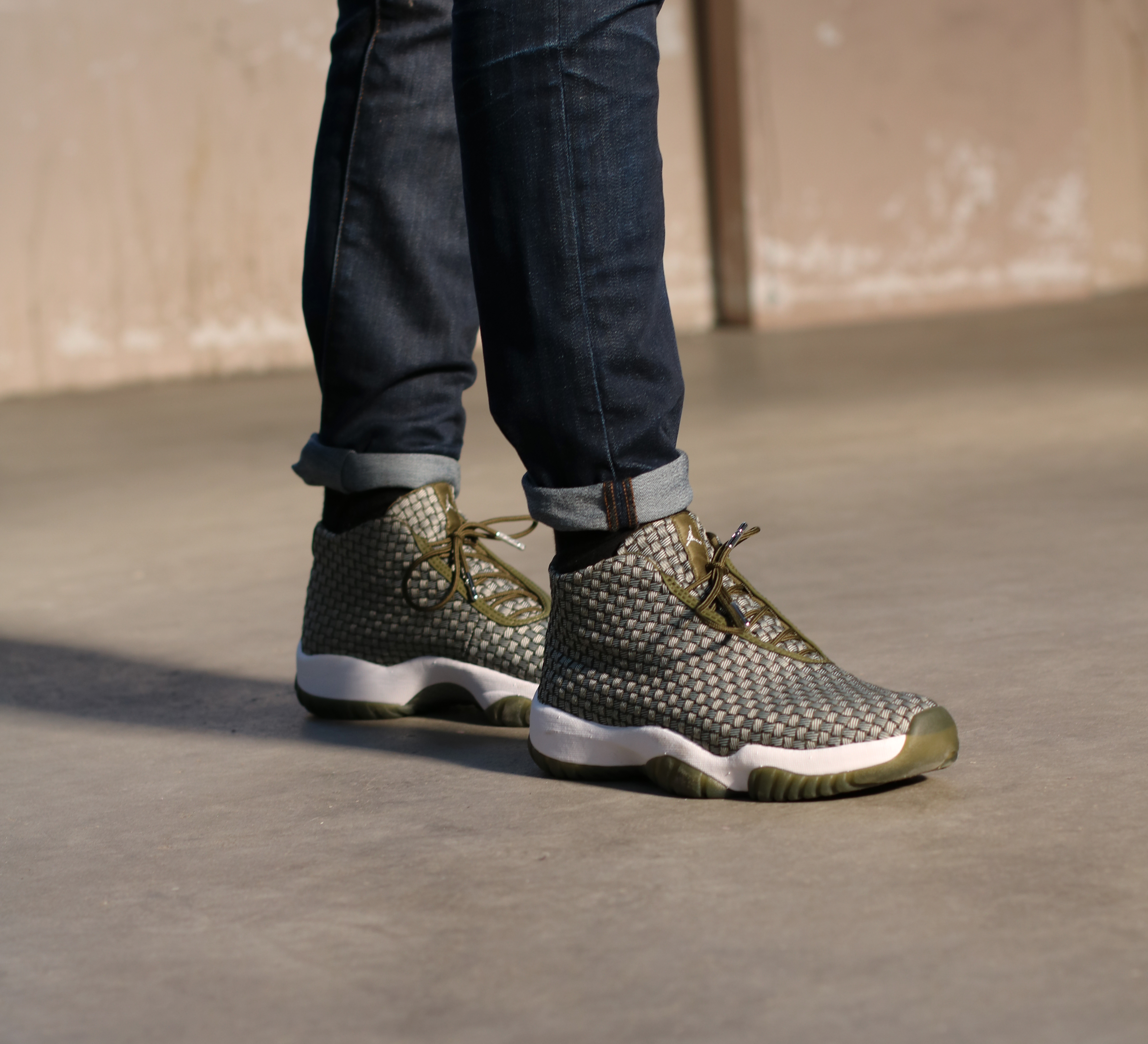 Nieuw: Air Jordan Future 'Olive