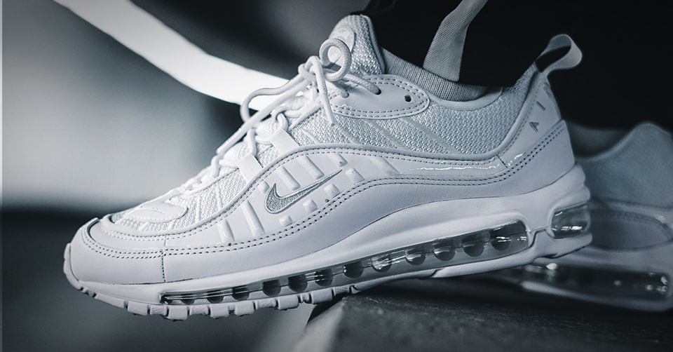 Release: Nike Air Max 98 verschijnt in Triple White & Gym ...