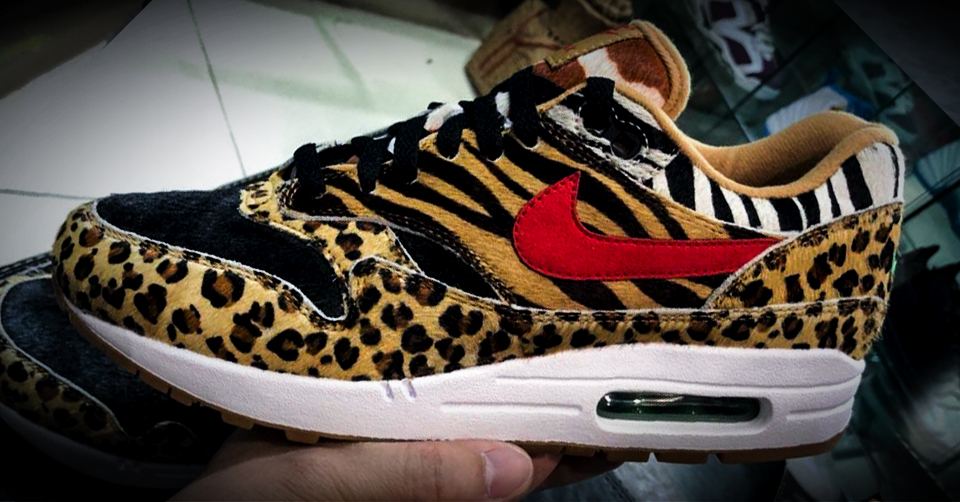 nike air max dames panterprint