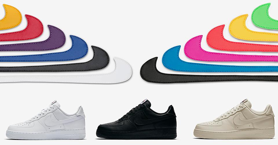 Nike Air Force 1 Velcro Swoosh Pack | Sneakerjagers