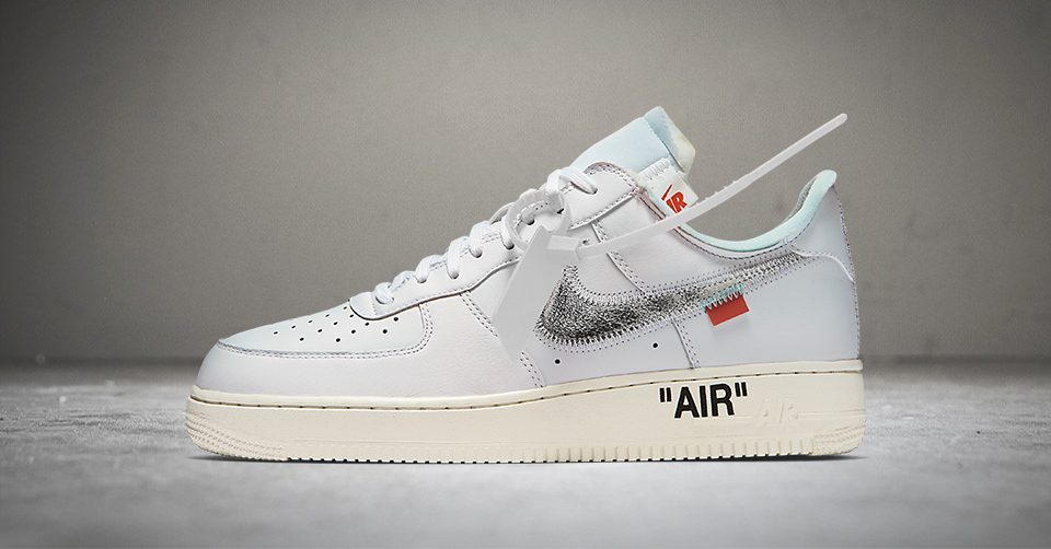 Officiële foto's van de OFF White X Nike Air Force 1 Low