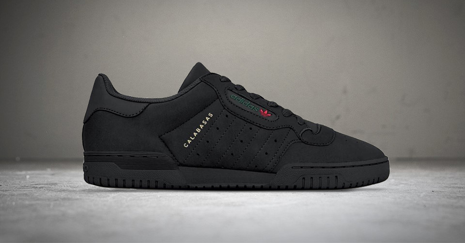 17 maart: De Yeezy Powerphase Calabasas 'Black'   Sneakerjagers
