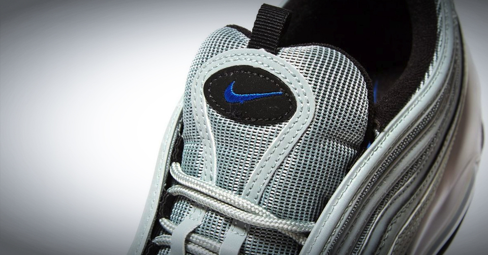 Nike Heren Air Max 97 AQ7331 001 Light PumiceRacer Blue