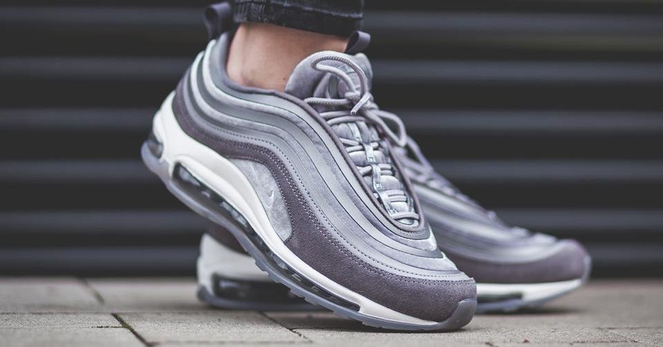 Nike Air Max 97 Ultra 17 Premium schoenen wit grijs