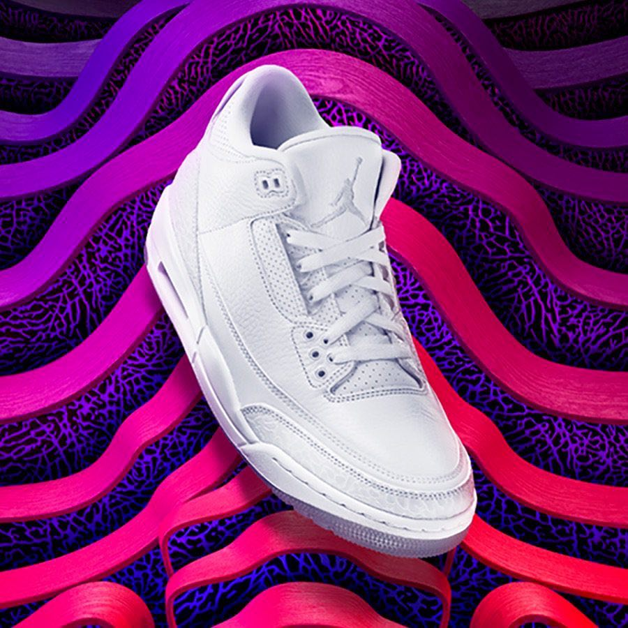 Air Jordan 3 'Pure White'
