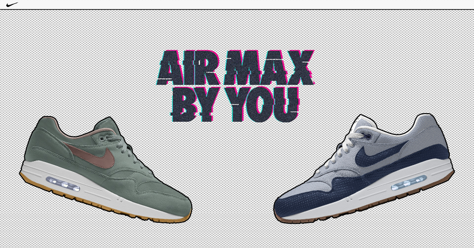 Nike Air Max 1 Premium Canvas ID | Outsole | Exclusive sneakers
