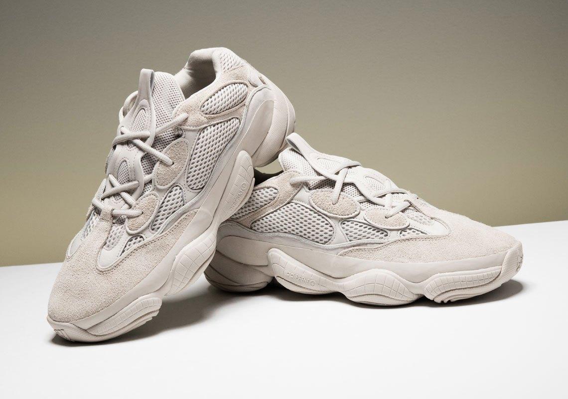 adidas Yeezy 500 'Desert Rat' release info 14 april