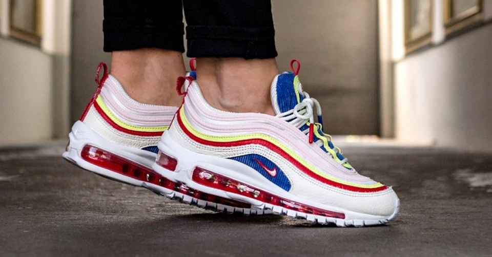 Nike Air Max 95 Schoenen | Nike Wmns Air Max 95 SE WitRood