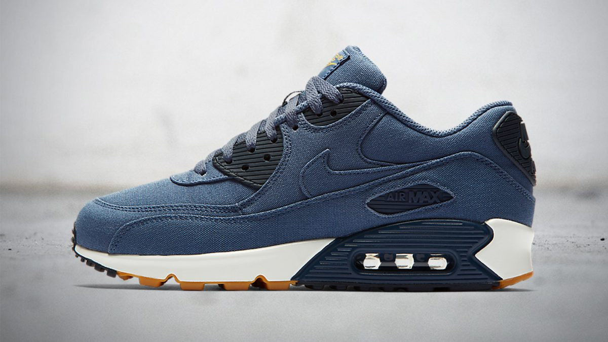Soon: Nike Air Max 90 'Linen Twill' Binary Blue | Sneakerjagers