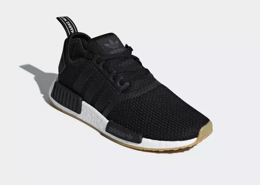 adidas NMD_R1 'Gumsole' Pack – Black
