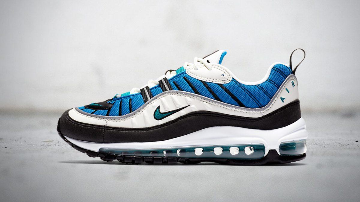 Nike Womens Air Max 98 'Nebula Blue