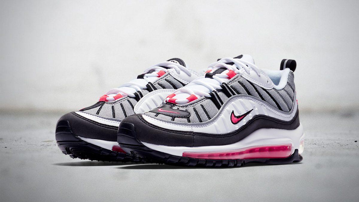 Nike Womens Air Max 98 'Solar Red'