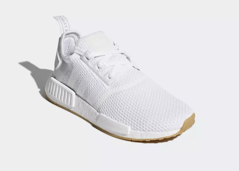 adidas NMD_R1 'Gumsole' Pack – White