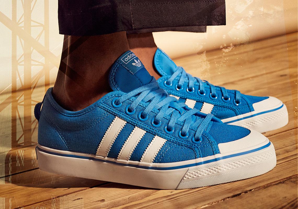 adidas nizza blauw