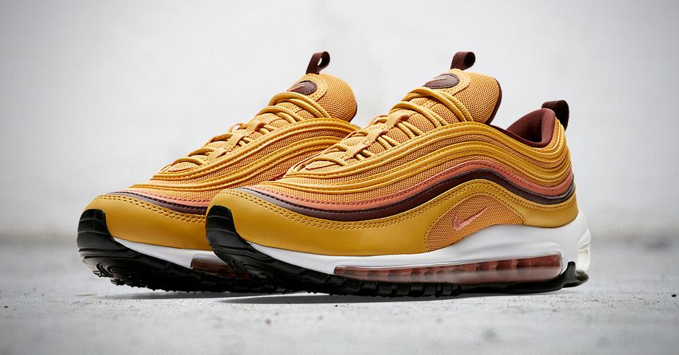 De Nike Air Max 97 in 'Mustard' | Sneakerjagers