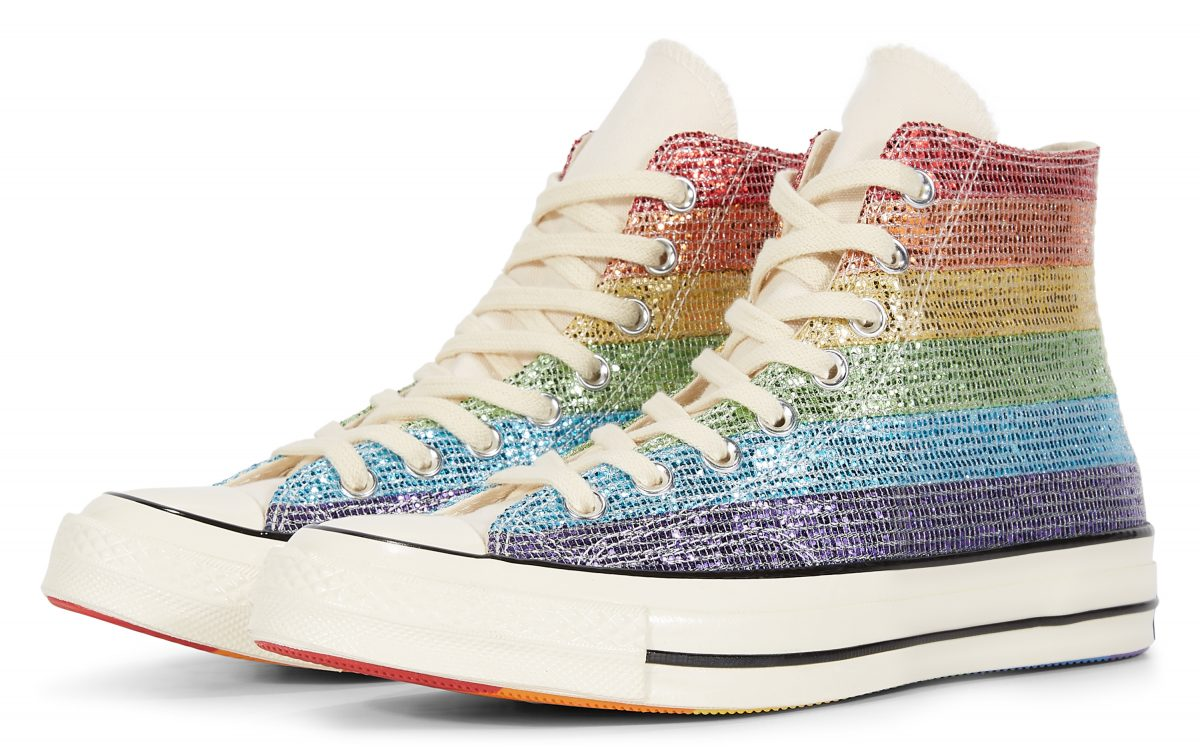 Vans Schoenen met Regenbood kleuren. | Regenboog schoenen