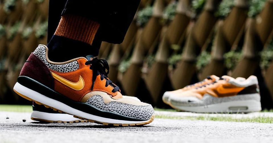 Nike gebruikt de bekende Atmos 'Safari' colorway op de Air ...