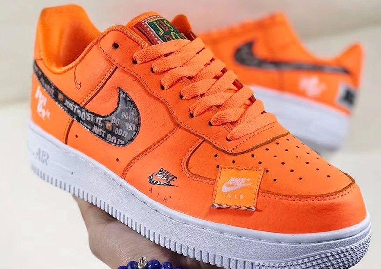 "UPDATE: Nike Air Force 1 '07 PRM ""Just Do It"" | Sneakerjagers"