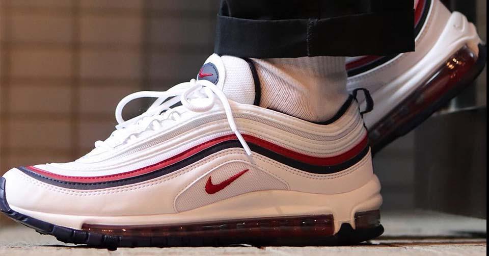 """Speciaal voor de dames! De Nike Air Max 97 """"Red Crush"""