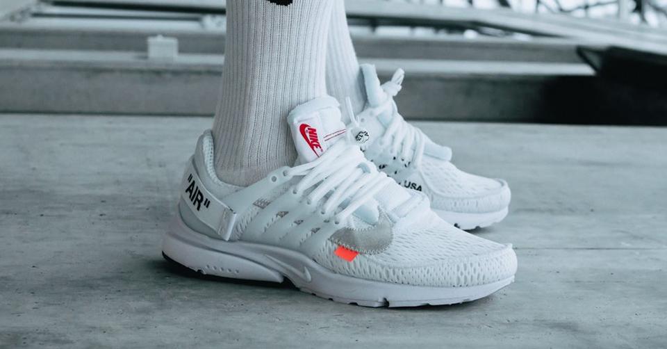 Nike Presto X Off White 'White' release info 3 augustus