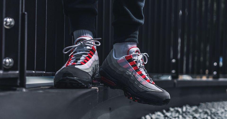 Nike's Original Air Max 95 Gradient komt terug in Solar Red