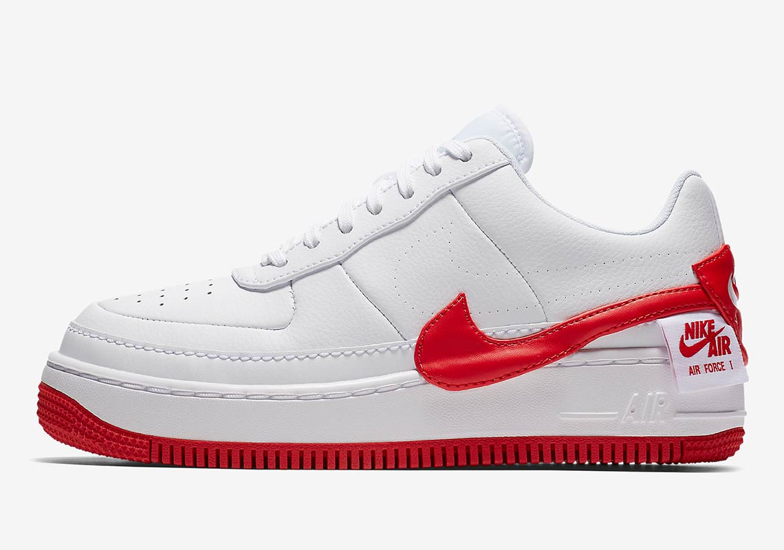 De Air Force 1 Jester nu ook in RedWhite | Sneakerjagers