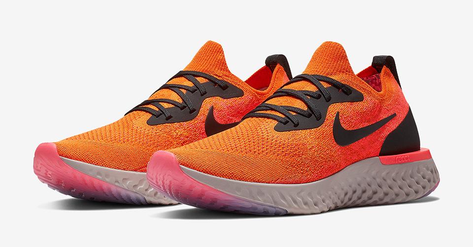 Een nieuwe felle colorway voor de Nike Epic React