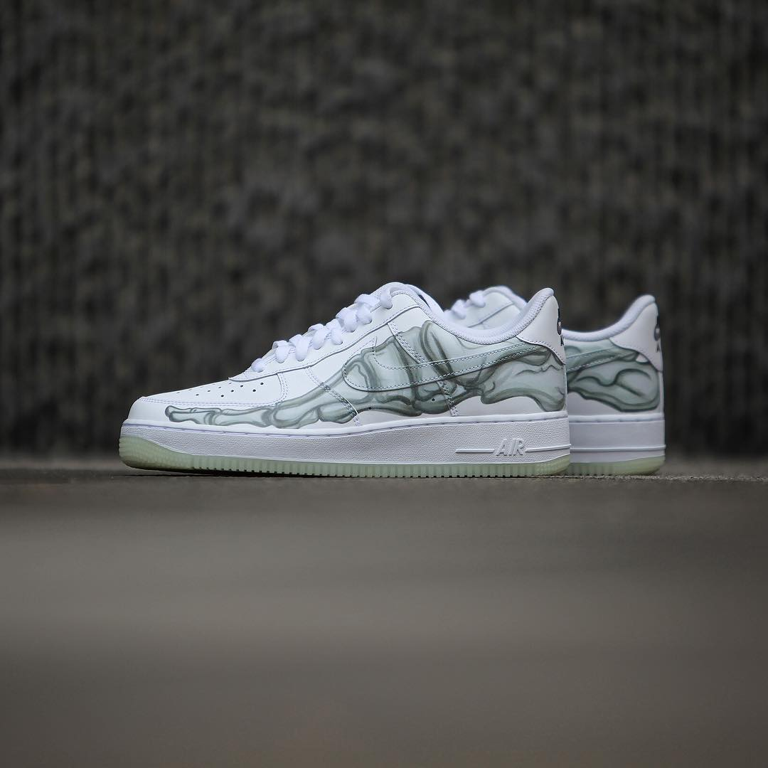 Nike Air Force 1 'Skeletal Foot'