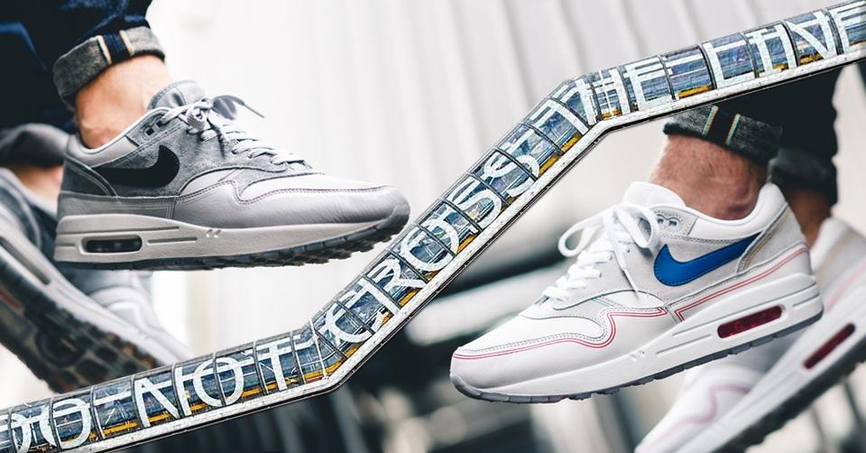 Nike Air Max 95 City QS London England Blue Red White Grey