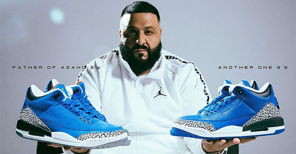 Dj Khaled x Air Jordan 3