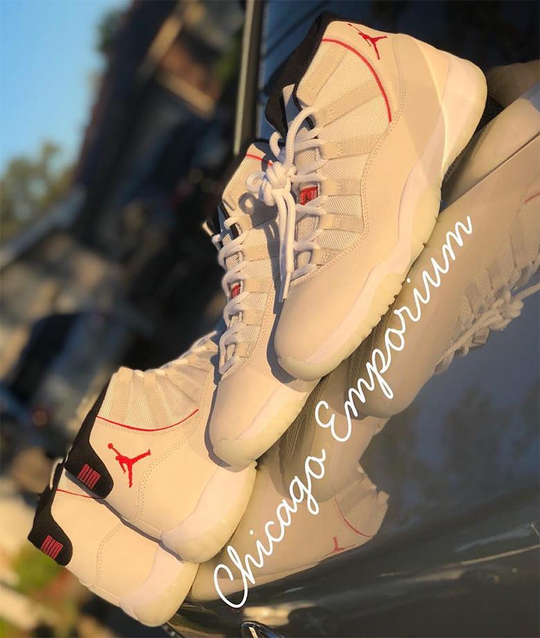 """Air Jordan 11 """"Platinum Tint"""""""