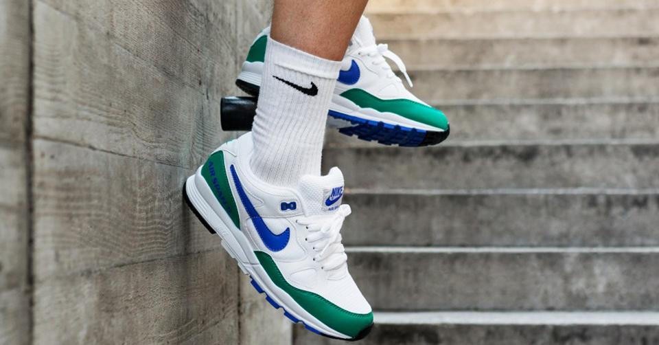 Nike Air Span II Solar Red On Feet Sneaker Review   Sneakers