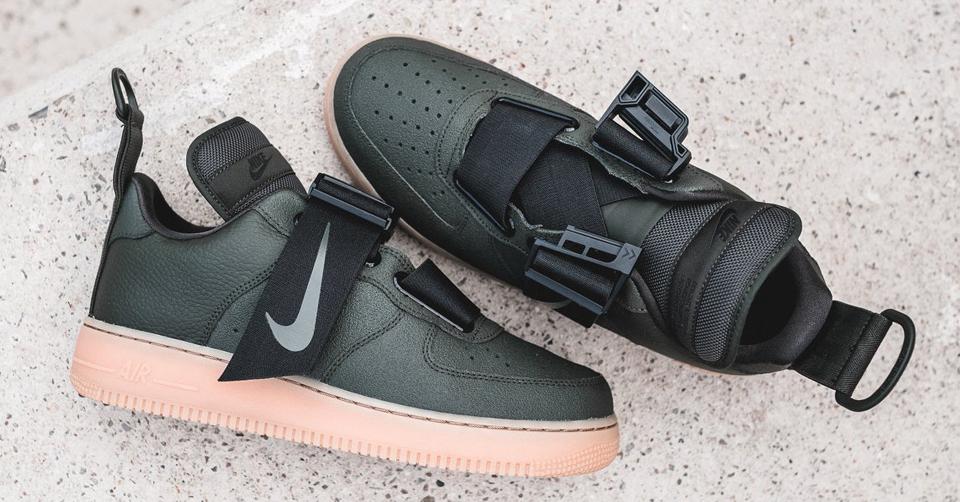 Nike Air Force 1 Utility schoenen grijs