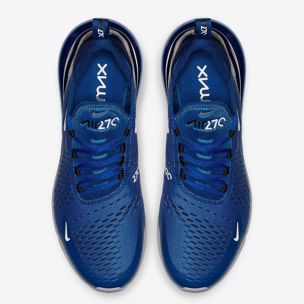 De Nike Air Max 270 in een frisse 'Indigo Force' colorway