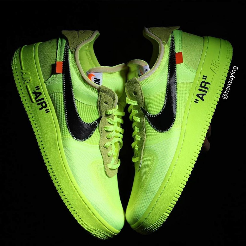 "Nike x Off-White Air Force 1 ""Volt"""