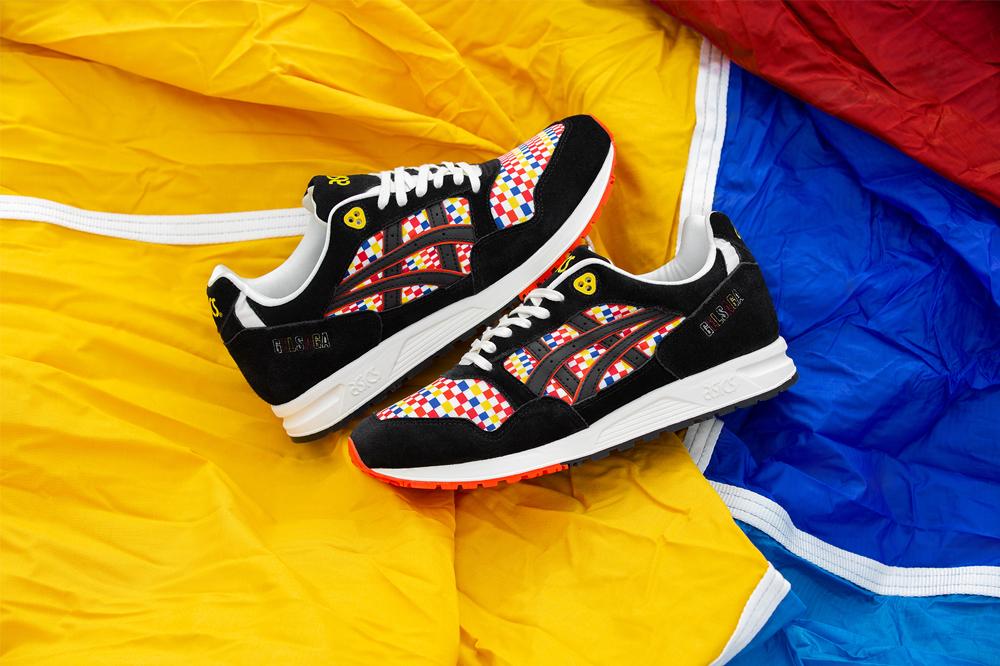 Size? x ASICS Gel Saga 'Balloon Fiesta'